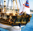 Royal Caroline Model Ship