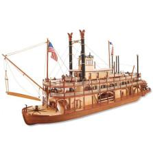 King of the Mississppi  DIY Model Ship
