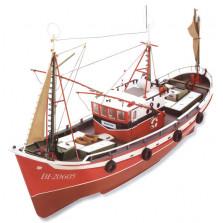 Marina Fishing Boat R/C  DIY Model Ship