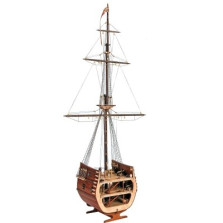 San Francisco II Cross Section  DIY Model Ship