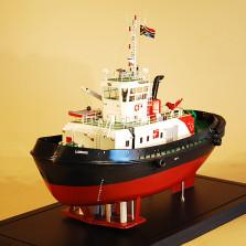 Custom model ship – Voight Tug