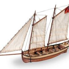 Endeavour's Longboat  DIY Model Ship