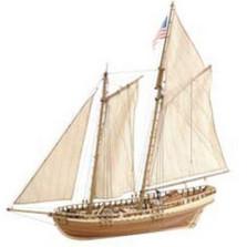Virginia American Schooner  DIY Model Ship