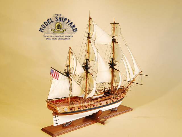 Rattlesnake USS Model Ship