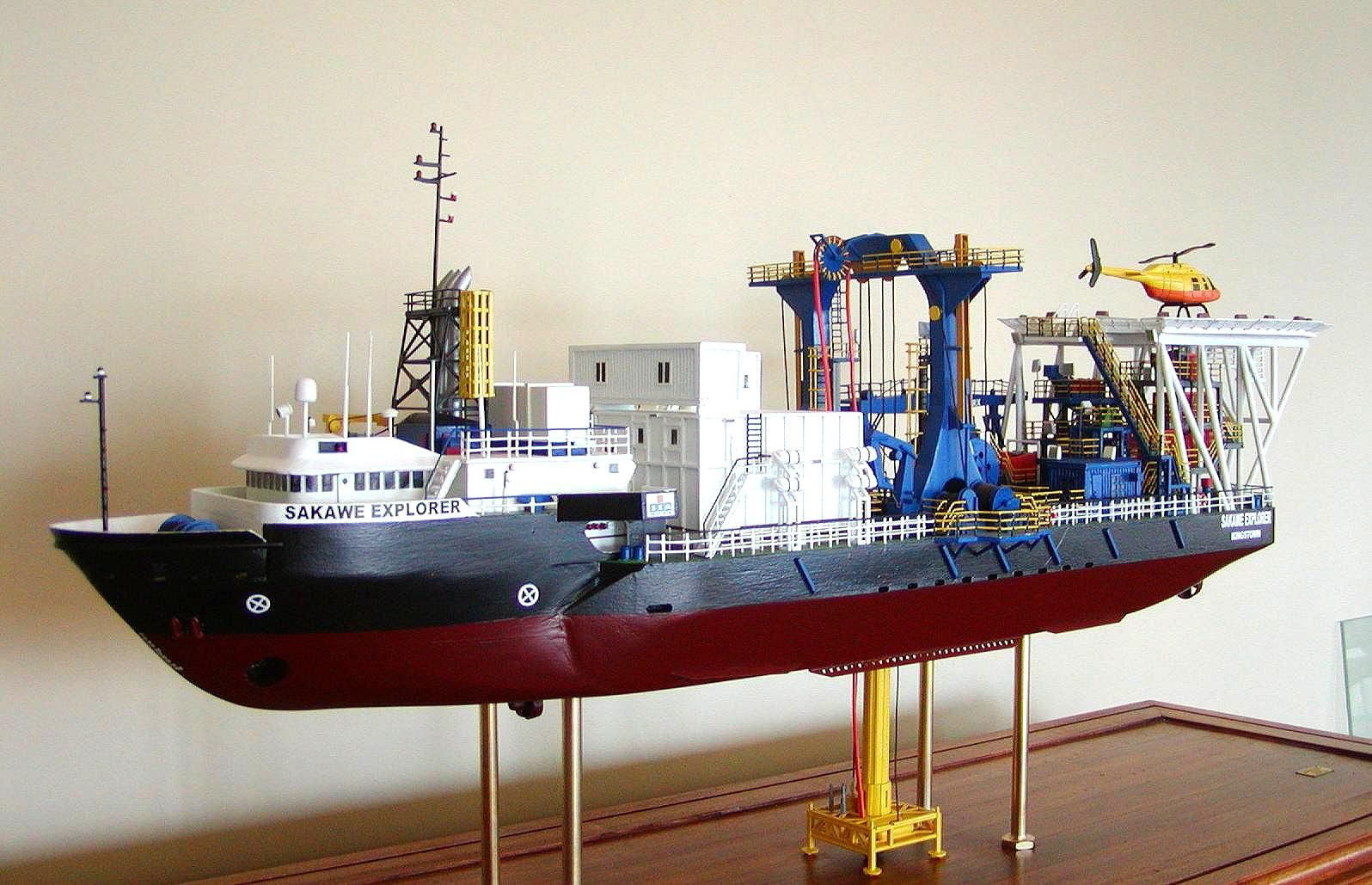 Modern Ship Design : Modern model ships sakawe explorer replica shipbuilders