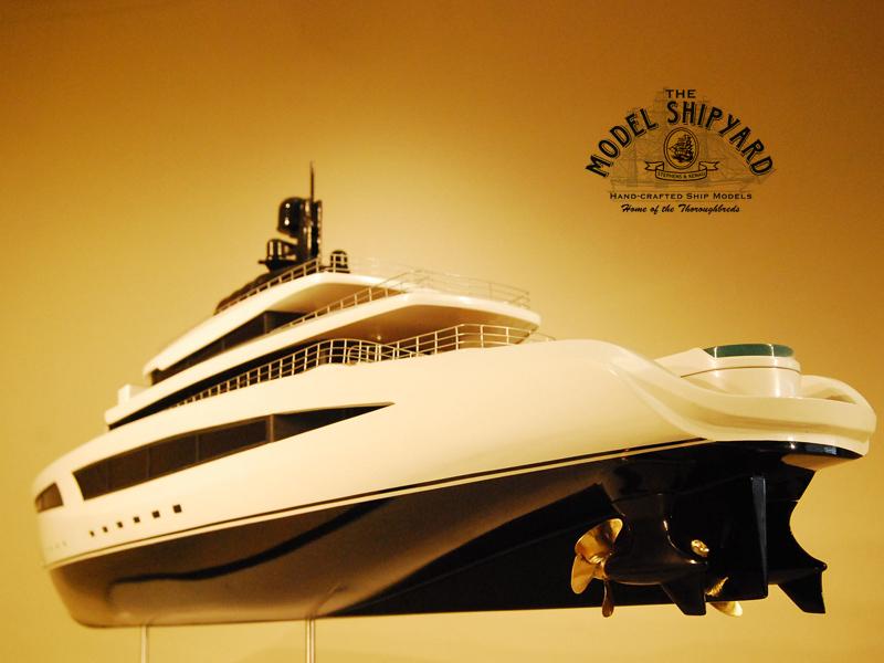 Super Yacht Boardroom Model The Model Shipyard
