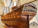 Ramillies HMS Model Ship