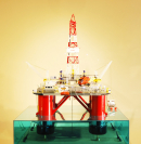 Drilling Rig – Actinia Model Ship