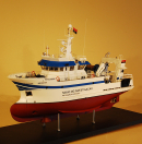 Research Vessel Model Ship