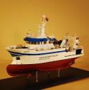 Research Vessel Model Ship