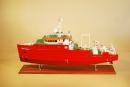 Fugro Survey Vessel Model Ship