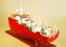 Fugro Survey Vessel Model Ship