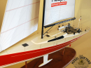 Haspa Yacht Model Ship