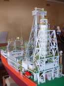 Diamond Dredging Vessel – MV Pacific Model Ship