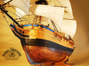 Discovery HMS Model Ship