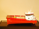 Fast Crew Supply Vessel Model Ship