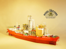 Diamond Dredger Model Ship MV Atlantic Model Ship