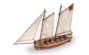 Endeavour's Longboat DIY Model Ship