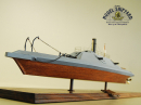 CSS Albemarle Model Ship