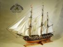 USS Hornet Model Ship