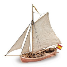 San Juan Nepomuceno Jolly Boat  DIY Model Ship