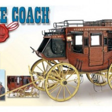 Stage Coach 1848  DIY Model Ship