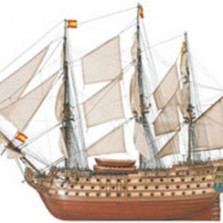 Santa Ana 1784  DIY Model Ship