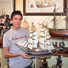 Lady Louise Range of Model Ships by The Model Shipyard