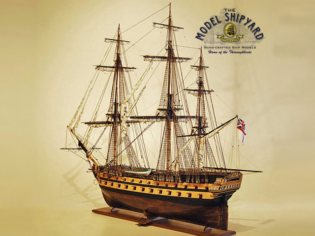 Hms Agamemnon Model Ship Museum Quality Exclusive Collectors