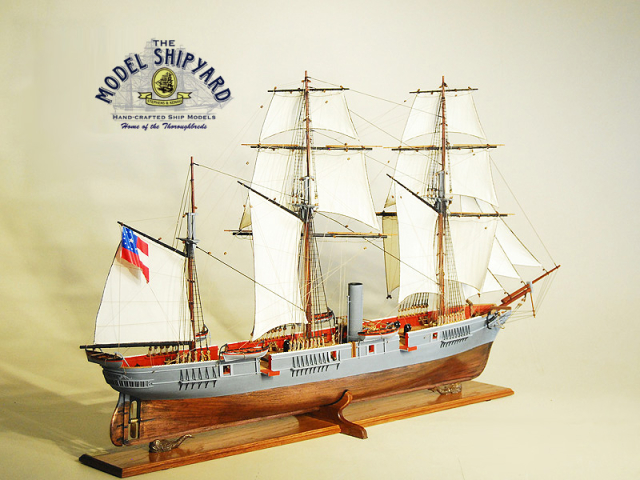 Alabama CSS Model Ship
