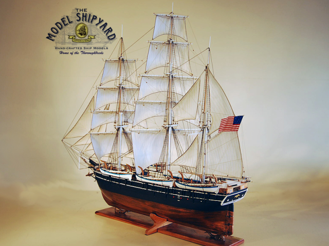 Charles W. Morgan Model Ship