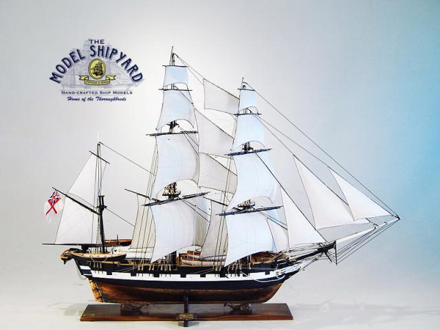 Beagle HMS Model Ship