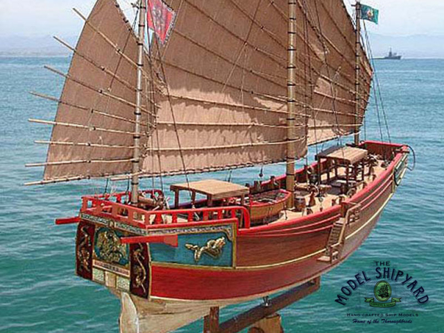 Ibn Battuta Chinese Junk Model Ship