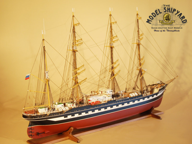 Kruzenshtern Model Ship