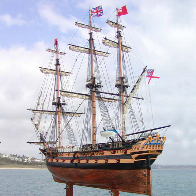 Serapis HMS Model Ship