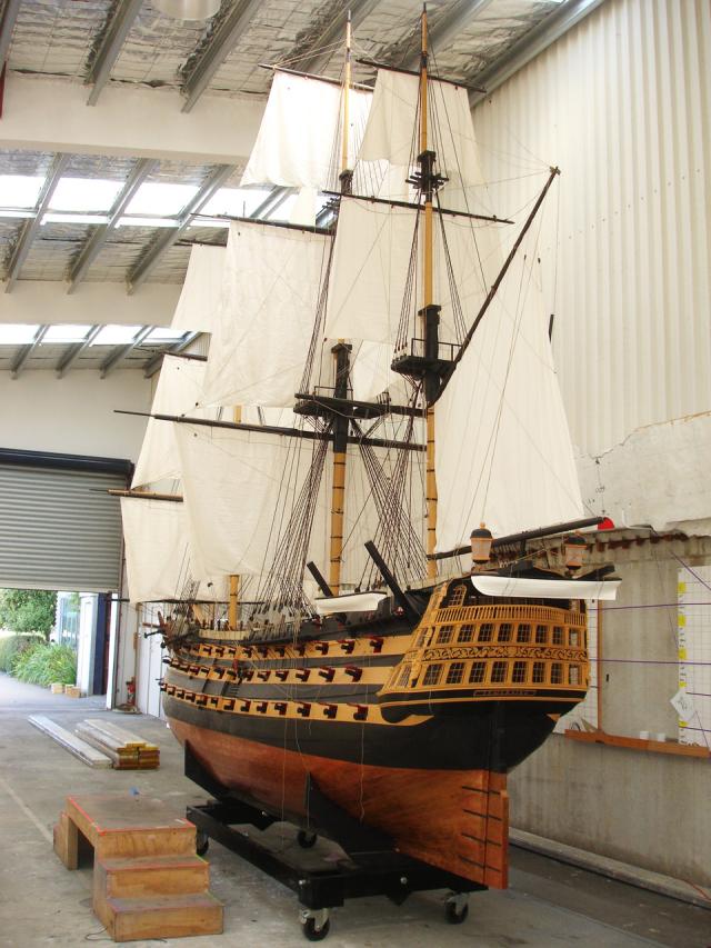 Temeraire HMS Model Ship