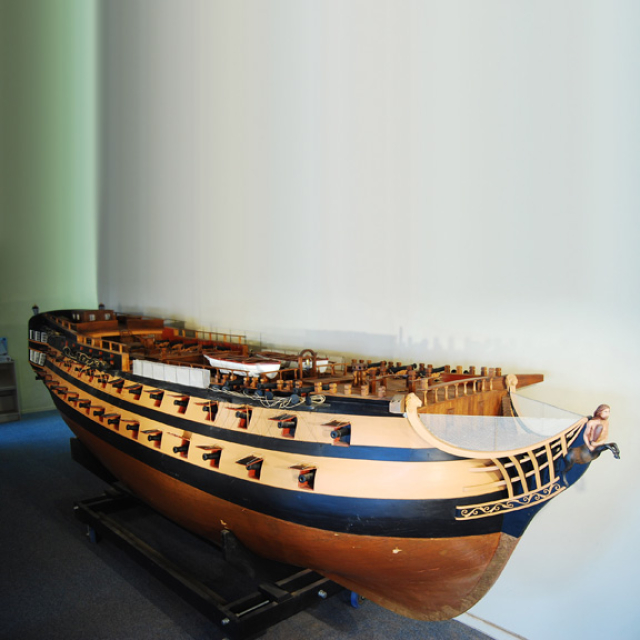 Bucentaure Model Ship