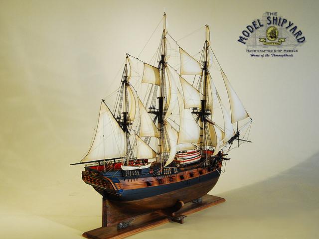 Investigator HMS Model Ship