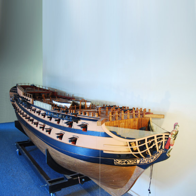 Redoutable Model Ship