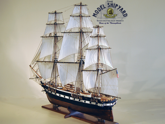Constellation USS Model Ship