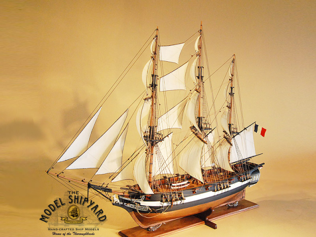 Astrolabe Model Ship