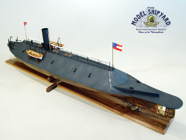 Virginia CSS Model Ship