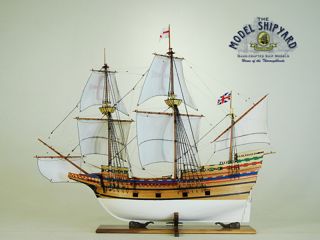 Mayflower II Model Ship