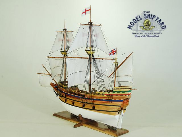 Mayflower II Model Ship