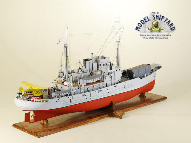 HMNZS Endeavour Model Ship