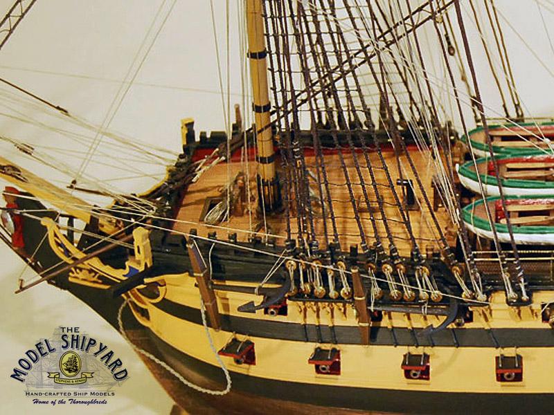 Hms Agamemnon Model Ship Museum Quality Exclusive Collectors