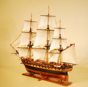 Model Ship Replica Scale Ship Model Builders Wooden