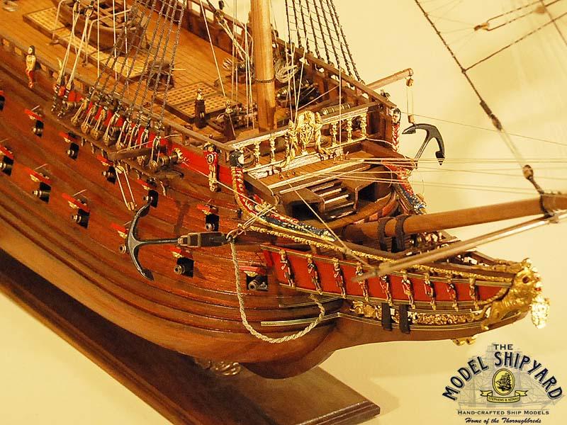 Model ships vasa ship model replica swedish battleship for Vasa ship