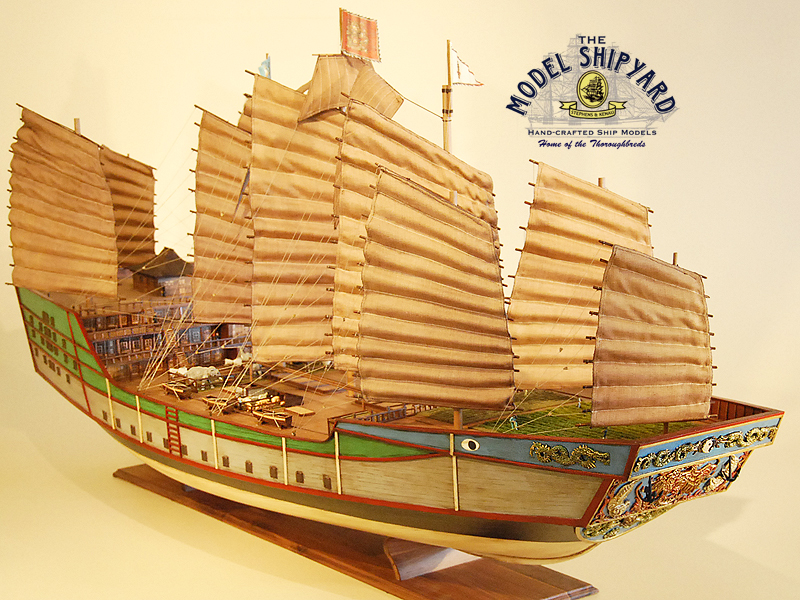 Zheng He Treasure Ship Model Exclusive For The Discerning