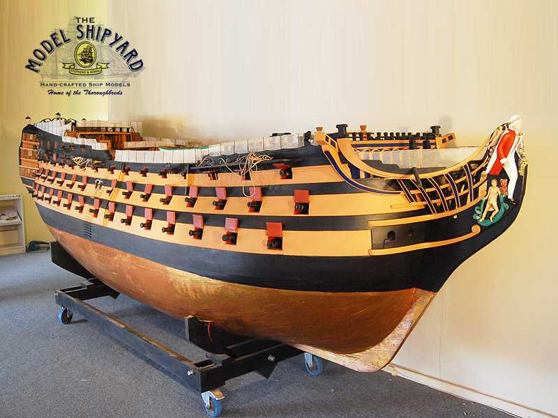 HMS Royal Sovereign Model Ship | Large Model Ship